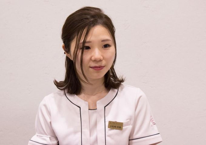 看護主任 小松崎真優さん
