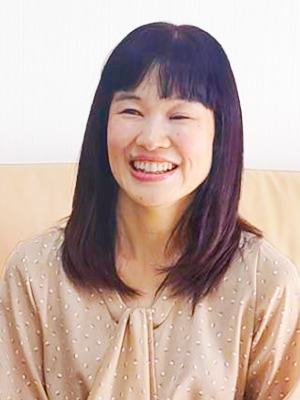 日本ケアメイク協会理事長の鈴木加奈子さん