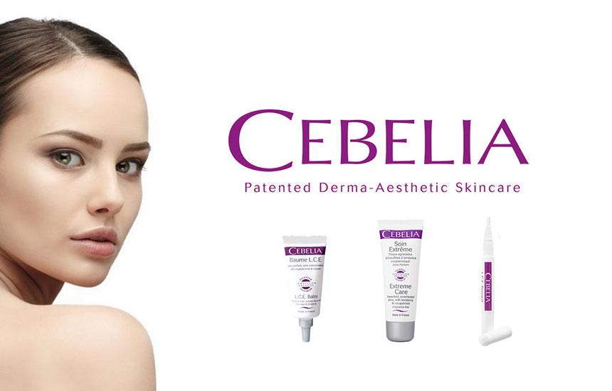 「CEBELIA(セベリア)-フランスの美容医療現場で生まれた敏感なお肌を優しく包むスキンケア」を掲…